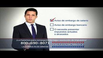 Los Taxes de América TV Spot, 'Opciones' [Spanish]