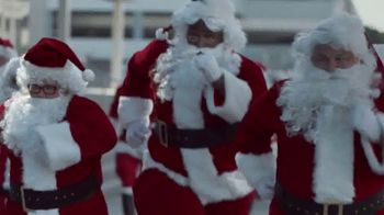 Ford Built for the Holidays Sales Event TV Spot, 'Running of the Santas' [T1]