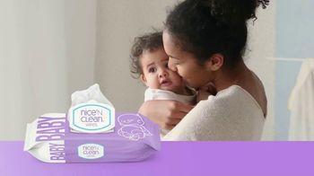 Nice 'N Clean Sensitive Skin Baby Wipes TV Spot, 'Healthy Snuggling'