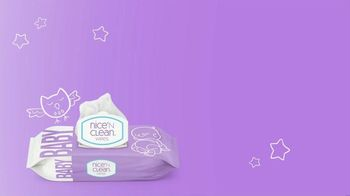 Nice 'N Clean Sensitive Skin Baby Wipes TV Spot, 'Healthy Snuggling' - Thumbnail 1