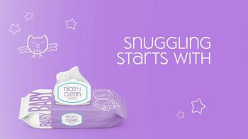 Nice 'N Clean Sensitive Skin Baby Wipes TV Spot, 'Healthy Snuggling' - Thumbnail 2