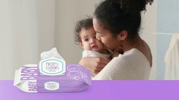 Nice 'N Clean Sensitive Skin Baby Wipes TV Spot, 'Healthy Snuggling' - Thumbnail 3