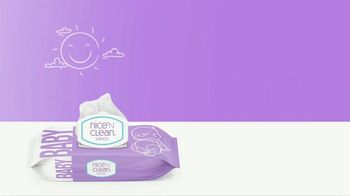 Nice 'N Clean Sensitive Skin Baby Wipes TV Spot, 'Healthy Snuggling' - Thumbnail 8
