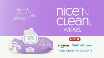 Nice 'N Clean Sensitive Skin Baby Wipes TV Spot, 'Healthy Snuggling' - Thumbnail 9