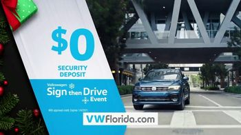 Volkswagen Sign Then Drive Event TV Spot, 'Better Year-End Clearance: Holiday' [T2] - Thumbnail 8