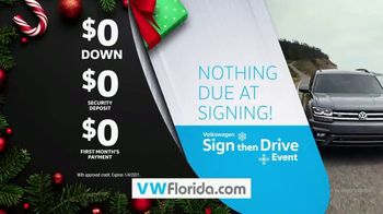 Volkswagen Sign Then Drive Event TV Spot, 'Better Year-End Clearance: Holiday' [T2] - Thumbnail 9