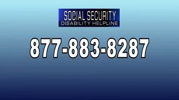 Social Security Disability Helpline TV Spot, 'Disability Benefits From Social Security' - Thumbnail 6