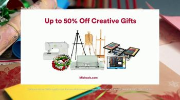Michaels TV Spot, 'The Gift of Making: 50% Off' - Thumbnail 10