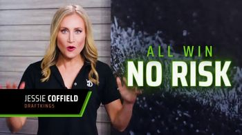 DraftKings at Casino Queen Sportsbook TV Spot, 'Living for the Weekend: Bet Risk-Free'