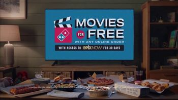 Domino's TV Spot, 'Pizza and a Movie'