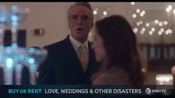 DIRECTV Cinema TV Spot, 'Love Weddings & Other Disasters' Song by Sonny Cleveland - 1 commercial airings