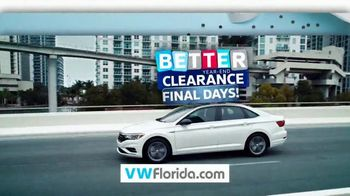 Volkswagen Sign Then Drive Event TV Spot, 'Better Year-End Clearance: Tiguan' [T2]