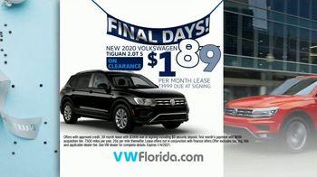 Volkswagen Sign Then Drive Event TV Spot, 'Better Year-End Clearance: Tiguan' [T2] - Thumbnail 6