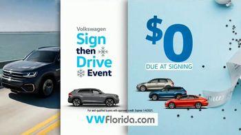 Volkswagen Sign Then Drive Event TV Spot, 'Better Year-End Clearance: Tiguan' [T2] - Thumbnail 7