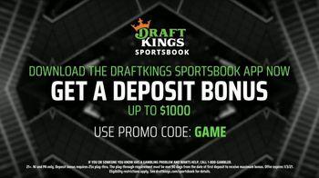 DraftKings Sportsbook TV Spot, 'Week 9 Betting Angles' - Thumbnail 7