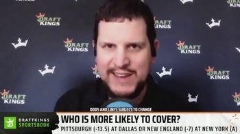 DraftKings Sportsbook TV Spot, 'Week 9 Betting Angles' - Thumbnail 3