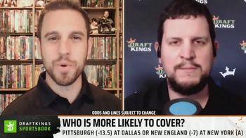DraftKings Sportsbook TV Spot, 'Week 9 Betting Angles' - Thumbnail 6