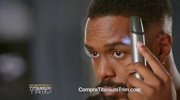 MicroTouch Titanium Trim TV Spot, 'Corte de pelo de precisión en casa' [Spanish]