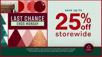 Ashley HomeStore Black Friday Sale TV Spot, 'Final Days: 25% Off Storewide' - Thumbnail 4