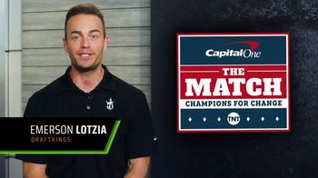 DraftKings TV Spot, 'The Match: Champions for Change' - 2 commercial airings