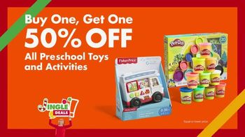 Big Lots Jingle Deals! TV Spot, 'Jingle BIG this Holiday Season: Preschool' Song by Montell Jordan - Thumbnail 6