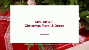 Michaels TV Spot, '50% Off Christmas Floral & Decor' - Thumbnail 7