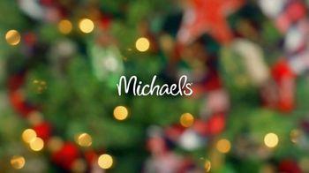 Michaels TV Spot, '50% Off Christmas Floral & Decor' - Thumbnail 1
