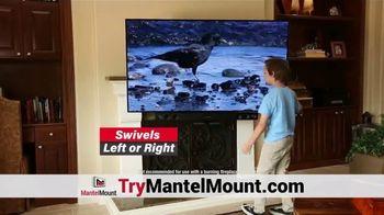 MantelMount TV Spot, 'Holiday Offer: 25%'
