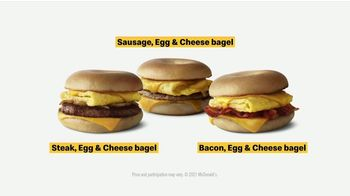 McDonald's Bagel Sandwich TV Spot, 'You Get the Baby Meal: Steak, Egg & Cheese Bagel' - Thumbnail 7