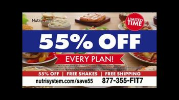 Nutrisystem 55% Off Sale TV Spot, 'Free Shakes, Free Shipping' Featuring Marie Osmond - 472 commercial airings