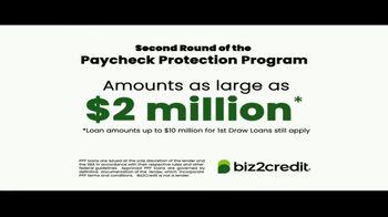 Biz2Credit TV Spot, 'Paycheck Protection Program Pre-Apply'