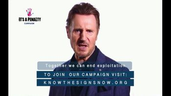 It's a Penalty TV Spot, 'What's Human Trafficking?' Featuring Liam Neeson - Thumbnail 10