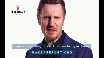 It's a Penalty TV Spot, 'What's Human Trafficking?' Featuring Liam Neeson - Thumbnail 8