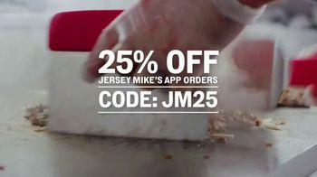Jersey Mike's TV Spot, 'Craving Into Saving: 25% Off'