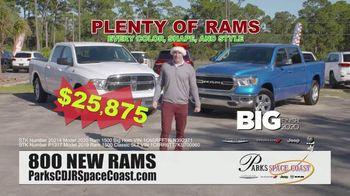 Parks CDJR Space Coast Big Finish 2020 TV Spot, 'Employee Pricing Plus: Santa'