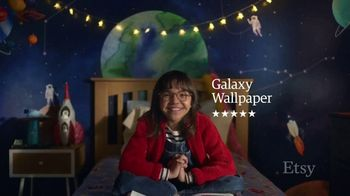 Etsy TV Spot, 'Meant For You: Wallpaper, Dog Bed, Earrings'