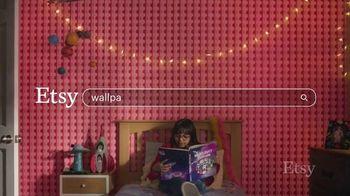Etsy TV Spot, 'Meant For You: Wallpaper, Dog Bed, Earrings' - Thumbnail 1
