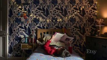 Etsy TV Spot, 'Meant For You: Wallpaper, Dog Bed, Earrings' - Thumbnail 2