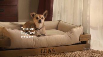 Etsy TV Spot, 'Meant For You: Wallpaper, Dog Bed, Earrings' - Thumbnail 8