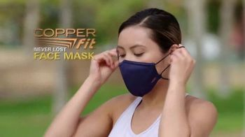Copper Fit Never Lost Face Mask TV Spot, 'Built-In Lanyard' - Thumbnail 2