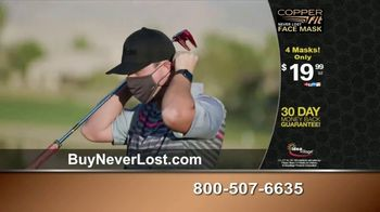 Copper Fit Never Lost Face Mask TV Spot, 'Built-In Lanyard' - Thumbnail 8