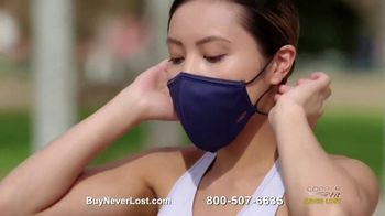 Copper Fit Never Lost Face Mask TV Spot, 'Built-In Lanyard'