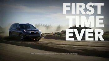 Honda TV Spot, 'First Time Ever: SUVs and Trucks' [T2] - Thumbnail 2