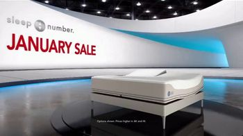 Sleep Number January Sale TV Spot, 'Weekend Special: Save $1,000' - Thumbnail 1
