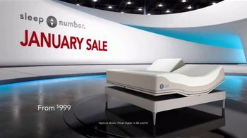 Sleep Number January Sale TV Spot, 'Weekend Special: Save $1,000' - Thumbnail 2