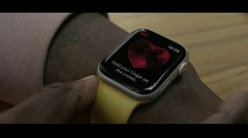Apple Watch Series 6 TV Spot, 'An ECG Right Here, Right Now' - Thumbnail 1