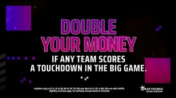DraftKings Sportsbook TV Spot, 'Tis the Big Game: Double Your Money' - Thumbnail 3