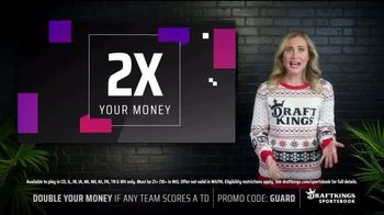 DraftKings Sportsbook TV Spot, 'Tis the Big Game: Double Your Money' - Thumbnail 4
