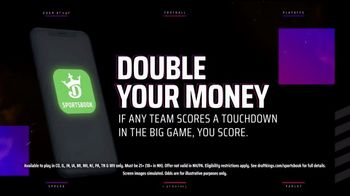 DraftKings Sportsbook TV Spot, 'Tis the Big Game: Double Your Money' - Thumbnail 7