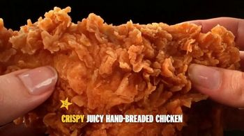 Hardee's Hand-Breaded Chicken Tenders TV Spot, 'Smothering' - Thumbnail 1